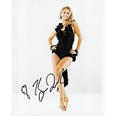Kym Johnson Autographed 8x10 Photo Dancing With The Stars