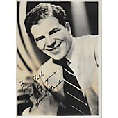Lionel Stander Vintage 5X7 photo (personalized to Jane Falk