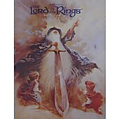 Lord of the Rings 1978 original movie program