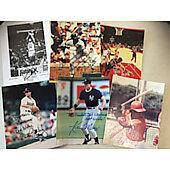 Lot of 11 Original sports photos including Mark Fox,Tito Landrum,Kevin Maas,Chuck Carrand many more