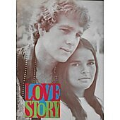 Love Story (1970) original movie program
