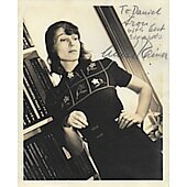 Luise Rainer Vintage 8X10 photo (personalized to Daniel)