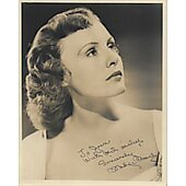 Madge Evans Vintage 8X10 photo (personalized to Joan) #2
