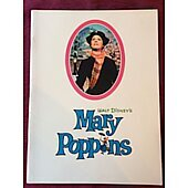 Mary Poppins 1964 original movie program