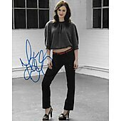Minka Kelly Autographed 8x10 Photo Model,Actress,Charlies Angels