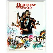 Octopussy 1983 James Bond 007 original movie program