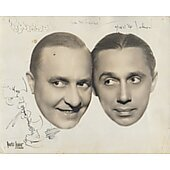 Olsen and Johnson Vintage 8X10 photo