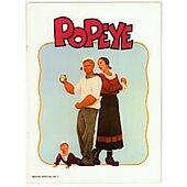 Popeye 1980 original movie program