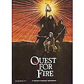 Quest for Fire 1982 original movie program