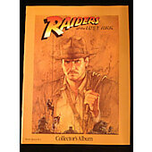 Raiders of the Lost Ark 1981 original movie program