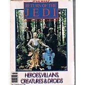 Star Wars 1983 Return of the Jedi Giant Collector's Compendium Heroes, Villians, Creatures & Droids