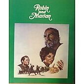 Robin and Marian (1976) original movie program