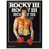 Rocky III 1982 original movie program
