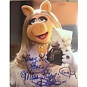 Eric Jacobson Miss Piggy SIGNED 8x10...