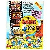 The Smurfs and the Magic Flute original movie program