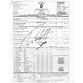 Charlie Hunnam Sons of Anarchy signed call sheet