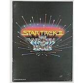 Star Trek II The Wrath of Khan 1982 original movie program