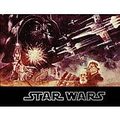 Star Wars 1977 original movie program