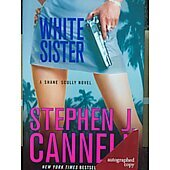 White Sister BOOK signed by author Stephen J. Cannell