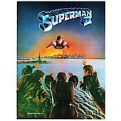 Superman II 1981 original movie program