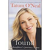 Found BOOK signed by author Tatum O'Neal (signature personalized to Deanna)