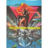 The Spy Who Loved Me 1977 James Bond 007 original movie program