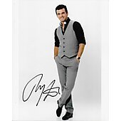 Tony Dovolani Autographed 8x10 Dancing with the Stars