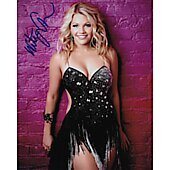Whitney Carson Autographed 8x10 Dancing With The Stars