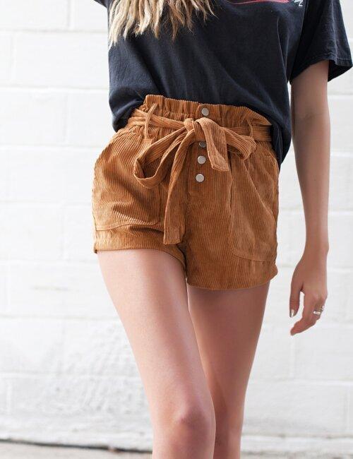 Brandi Tan Shorts