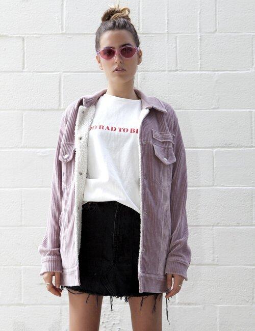 Denali Pink Corduroy Jacket