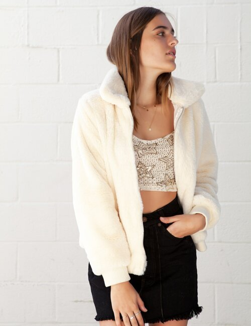 Veronica Cream Jacket