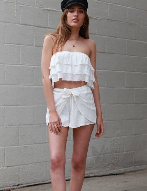 Babylon White Shorts