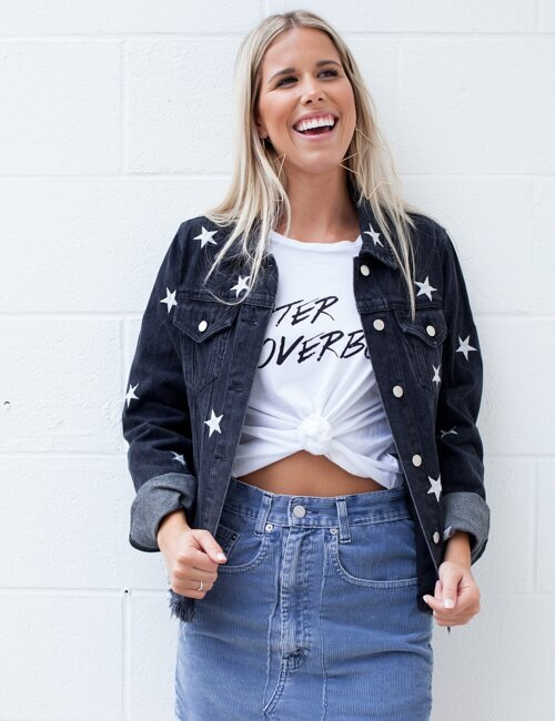 Star Girl Denim Jacket