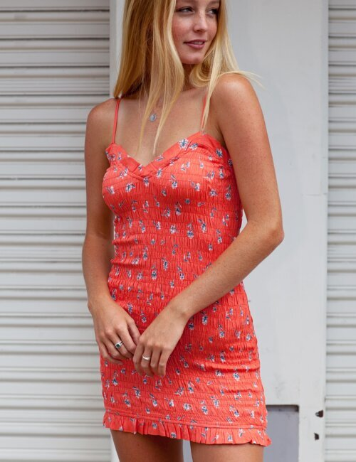 Lady Love Coral Dress