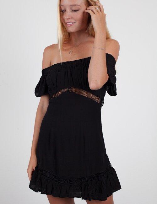 Finding France Black Dress