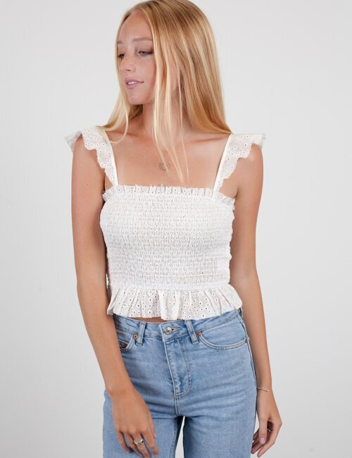 Classic Cool White Top