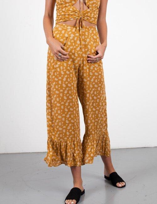 Everywhere You Look Mustard Pants