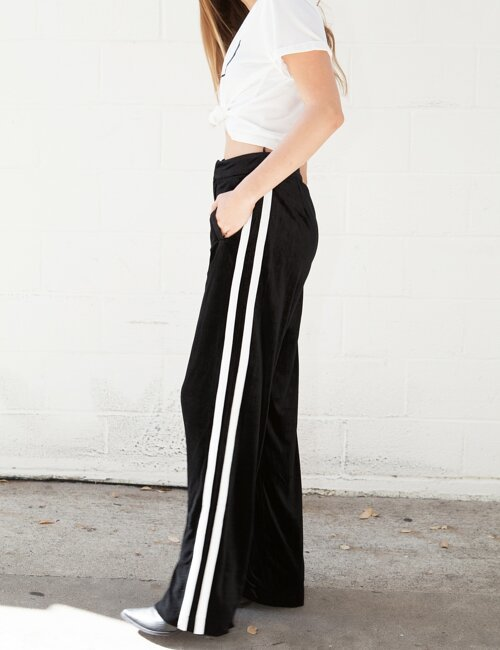 Violetta Velour Pants