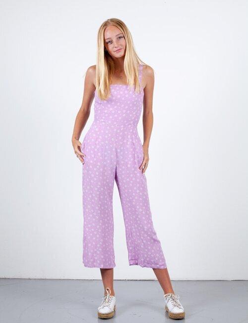 Euro Disco Lilac Jumpsuit