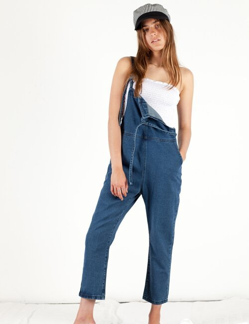 Tainted Love Denim Overalls