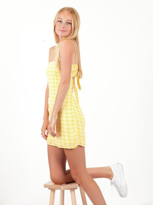 America's Sweetheart Yellow Dress