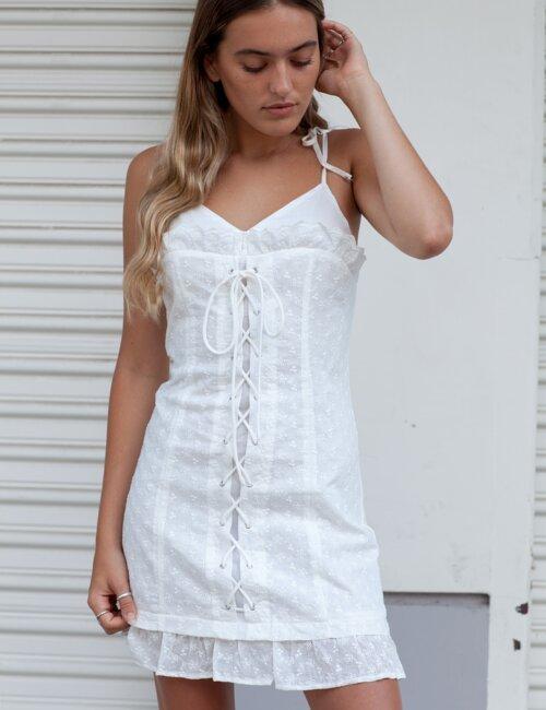 Dress Code White Lace Dress