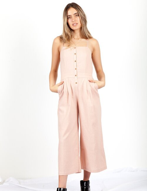 Come Together Pink Jumpsuit
