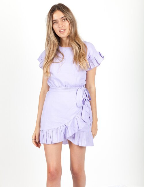 Cannes Is Calling Lavender Dress