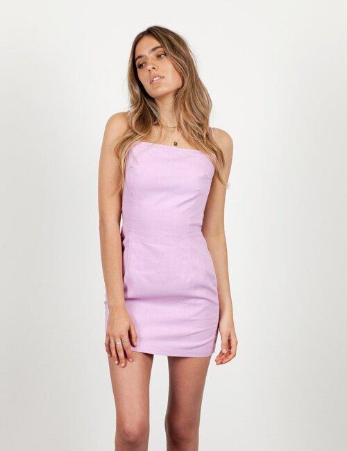 Vacay Romance Lavender Dress