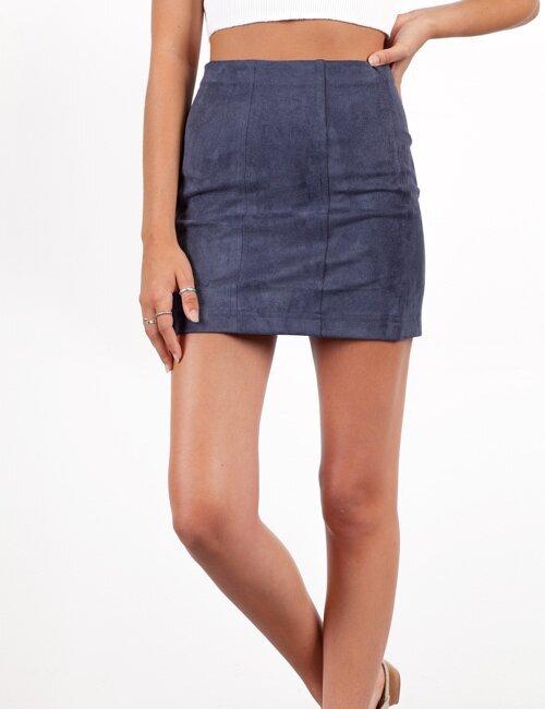 Ashland Navy Blue Skirt