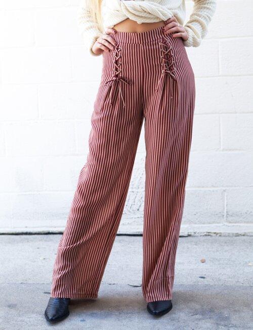 Noelle Striped Pants