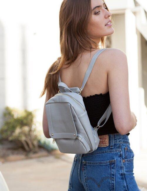 Bonnie Grey Backpack