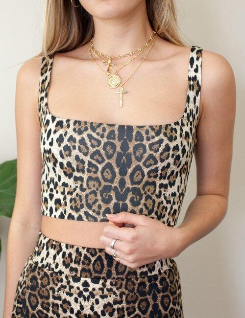 Ivy Leopard Top