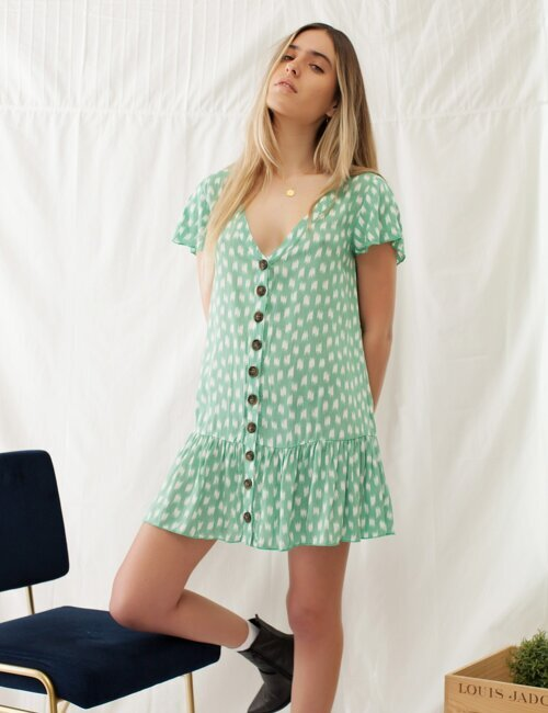 April Showers Mint Dress